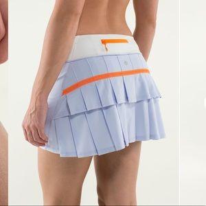 Lululemon Run: Pace Setter Skirt periwinkle, 4